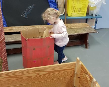 K1A: Sint en Piet in de gymzaal