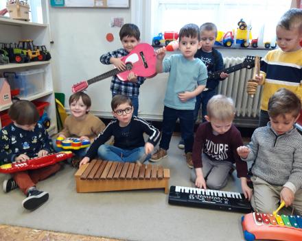 Muziek in de klas