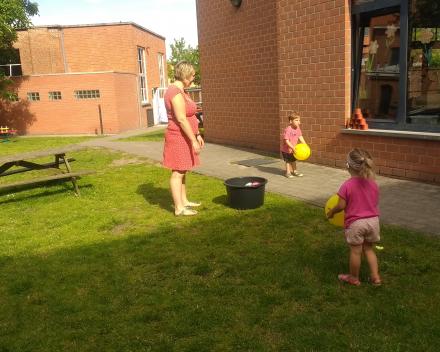 Sportvoormiddag jongste kleuters