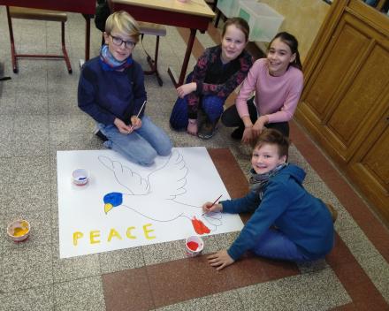 vredesapostelen in kersttijd