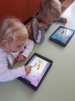 Werken met de tablet