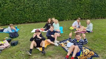 Juni 2021: sportdag, uitstap naar zee, laatste schooldag