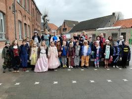 Carnaval op school (20/02/2020)
