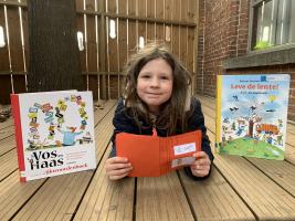wedstrijd 'Lezen is een feest' - bibliotheek Beernem