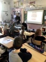 Auteur Stefan Boonen in de klas!