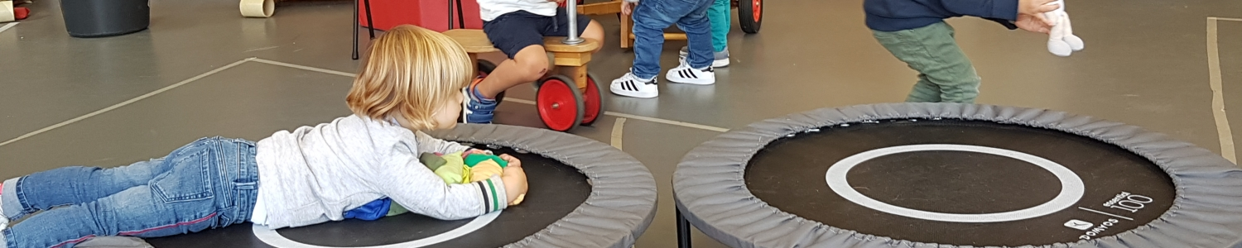 Gymmen bij juf Aagje K1A september 2019